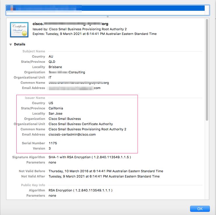 Obtaining an SSL cert for SPA5xx phone     - Cisco Community