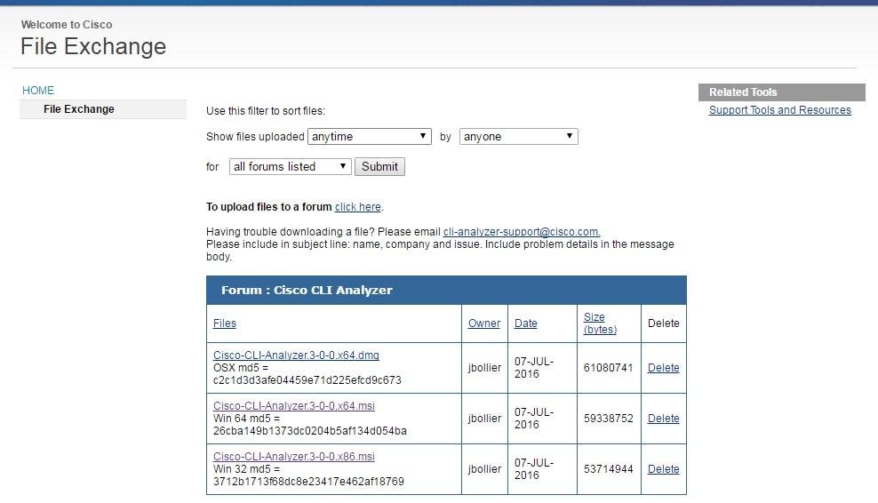 Can't download CLI Analyzer - Cisco Community