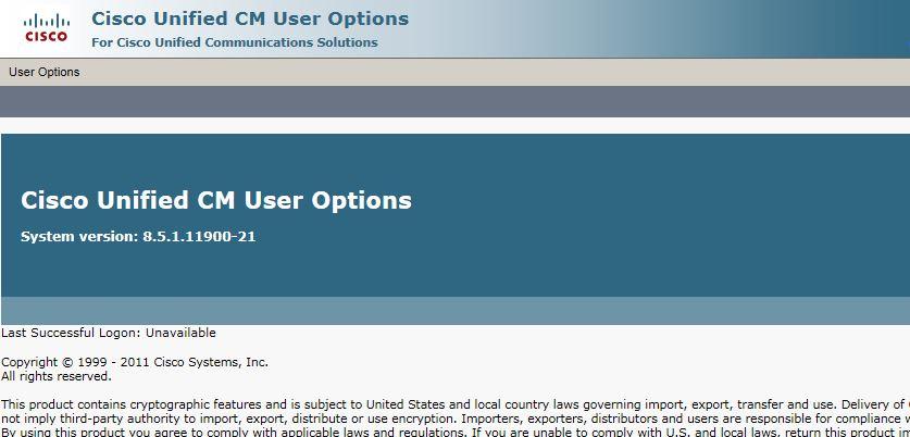 End user - user option