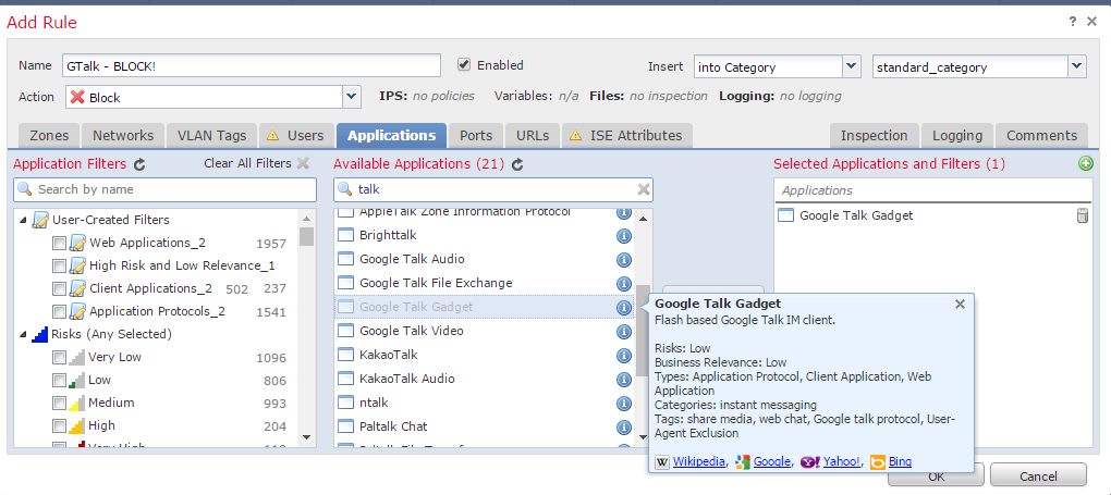 Block-Gmail Chat ( not Gmail) - Cisco Community