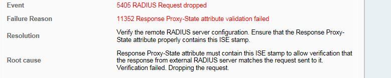 Cisco ISE Radius Proxy - Cisco Community