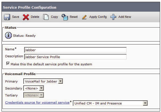 Jabber client service on Cisco Unified - Cisco Community