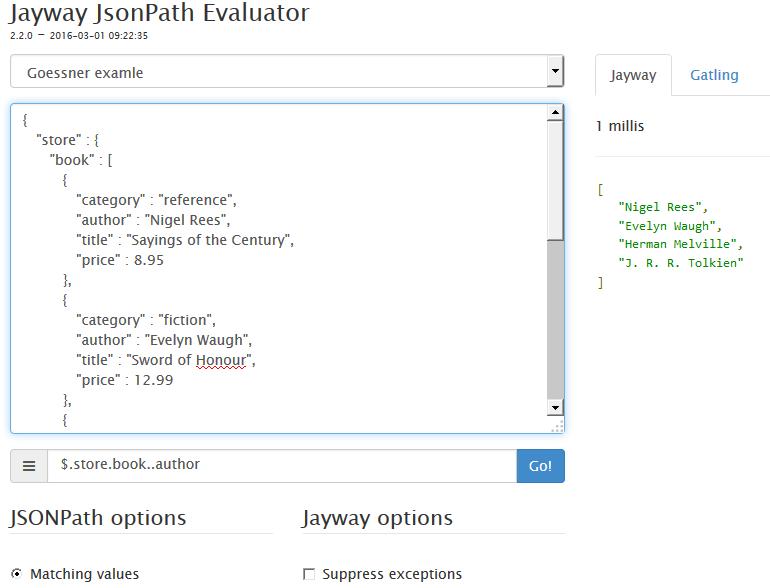 JSON Path Evaluator