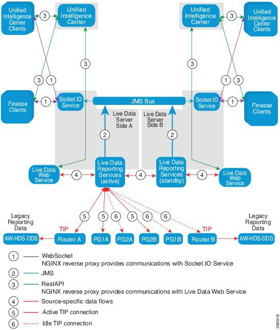 LiveData Reporting Topology