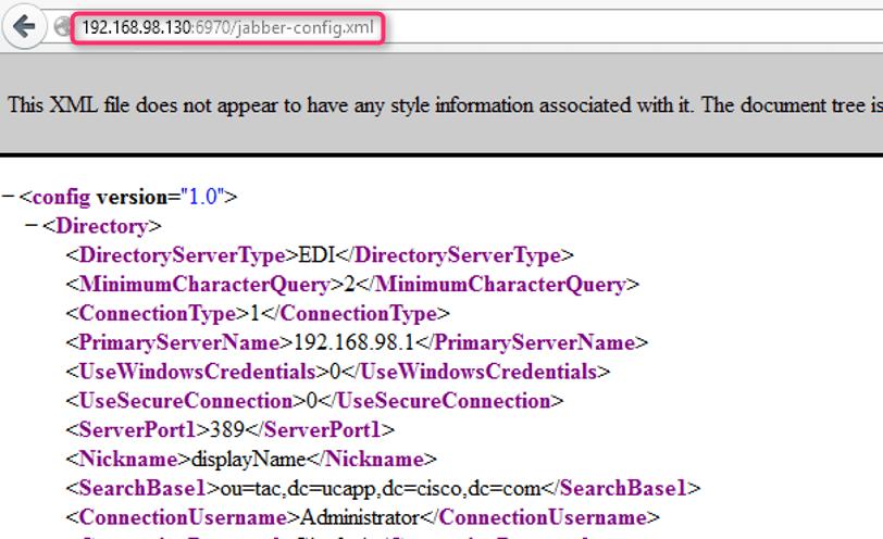 cucmからjabber config xmlを確認 ダウンロードする方法 cisco community