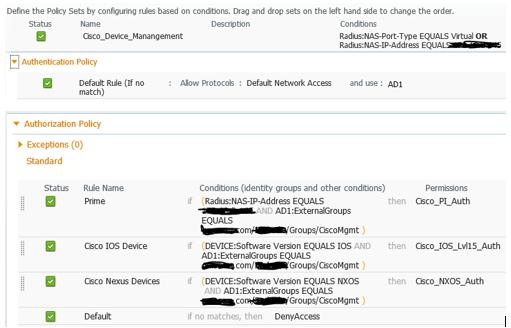 ISE IOS CLI authentication Quandry - eehelp com