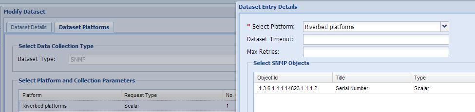 Riverbed dataset