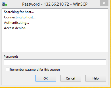 WinSCP and Putty SSH - Cisco Community
