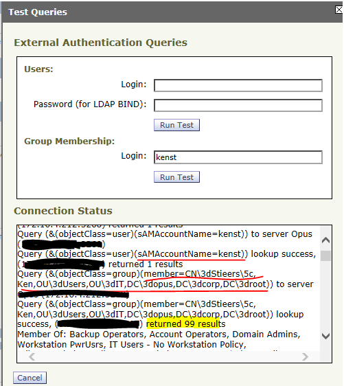 Admin Authentication on WSA using LDAP - Cisco Community