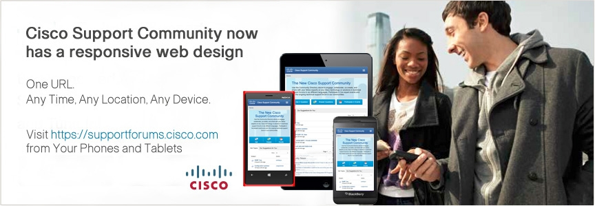 Cisco Support via Mobile   Cisco Support Community