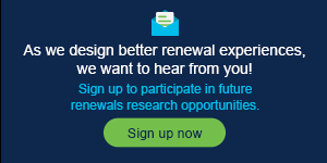 Design better renewal experiences