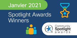Spotlight Awards Janvier 2021