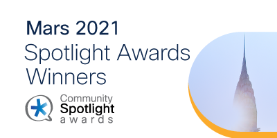 Spotlight Awards Mars 2021