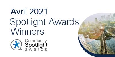 Spotlight Awards Avril 2021