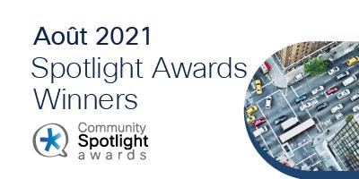 Spotlight Awards Août 2021