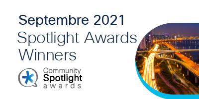 Spotlight Awards Septembre 2021