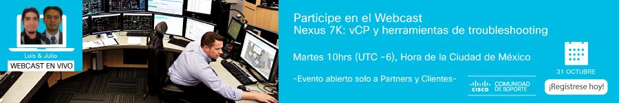 Webcast-Nexus 7K