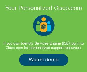 Identity Services Engine (ISE) - Cisco Community