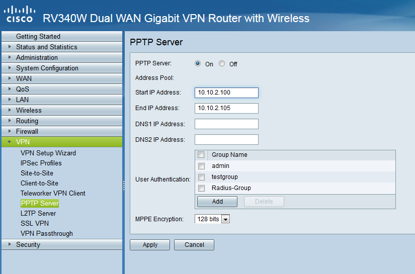 Cisco Rv340 Client To Site Vpn