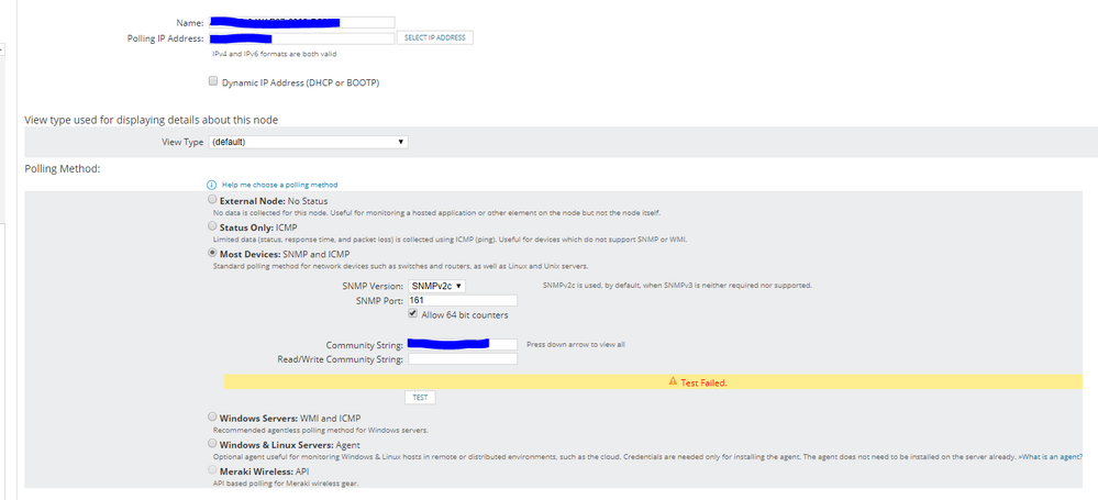 Solved I Need Help Monitoring Cisco 3802 Waps In Solarwinds Via Snmp And Icmp Cisco Community