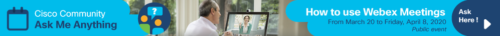 How to Use Webex Meetings