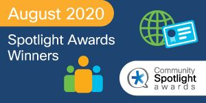 Cisco Community August2020 Spotlight Award Winners