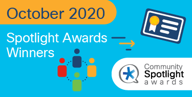 Cisco Community October 2020 Spotlight Award Winners
