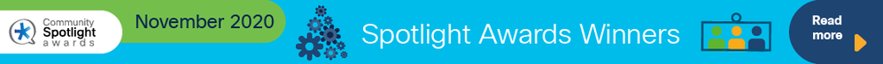 Cisco Community November 2020 Spotlight Award Winners