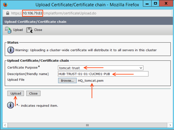 ILS Upload CertificateCertificate chain.png