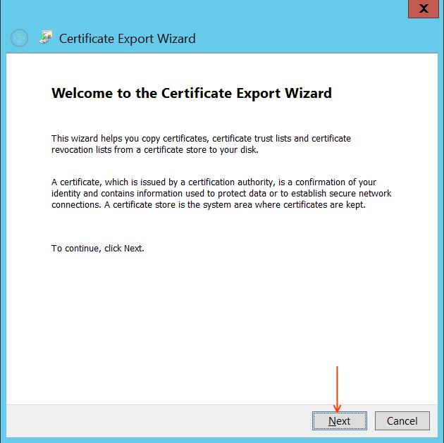 CUCM Certificate export wizard.png