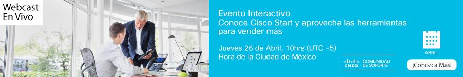 Webcast-Cisco Start