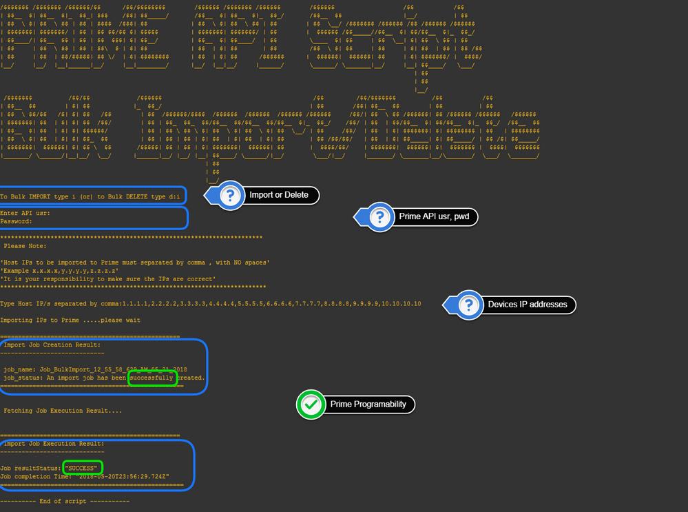Cisco Prime Automated Bulk Import/Delet    - Cisco Community