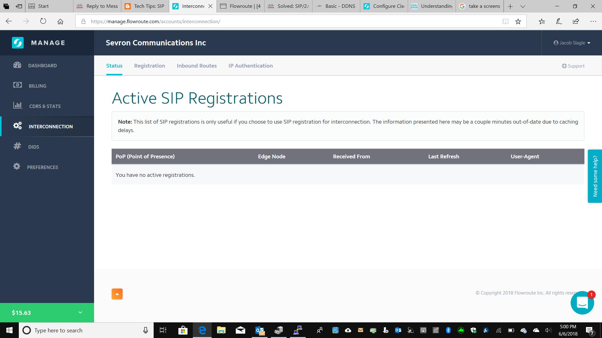 Need Help setting up Sip Trunk - Cisco Community