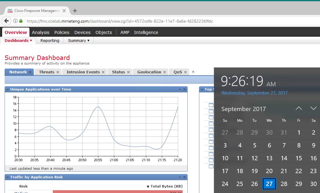 FireSIGHT dashboard Timezone - Cisco Community