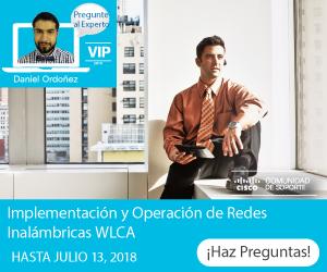 Pregunte al Experto- Implementación y Operación redes inalámbricas WLCA