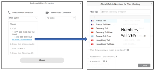 webex international toll free dial in numbers