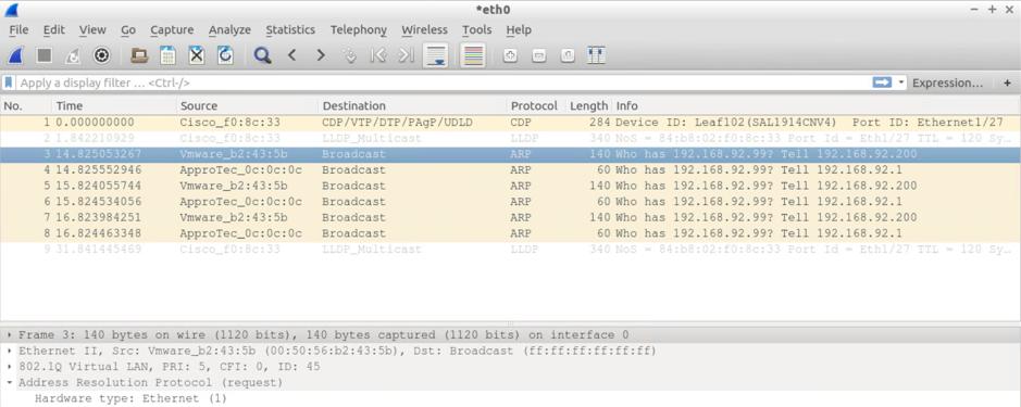 Solved: ACI ARP deluge! - Cisco Community