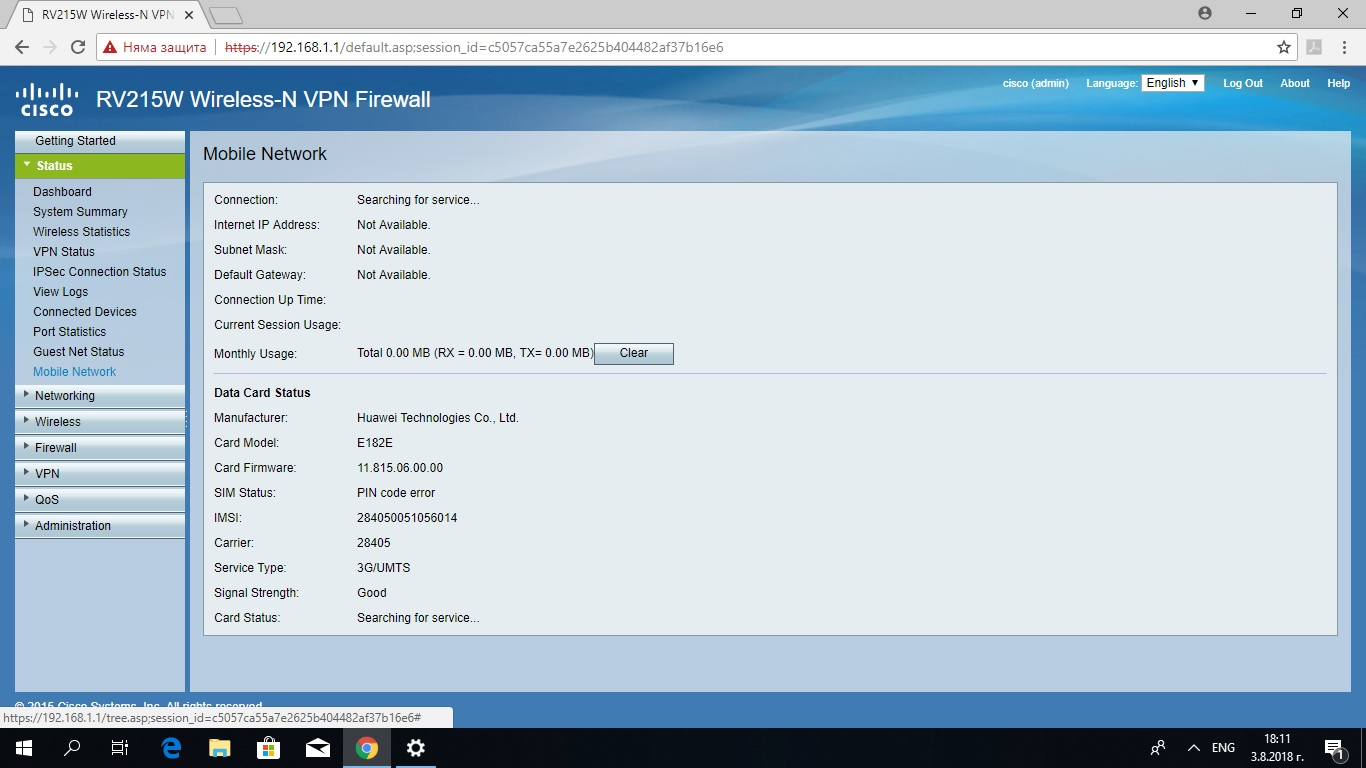 Dongle Support on the RV215W - Cisco Community