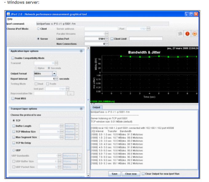 Solved: iperf3 measure speed for internet - Cisco Community