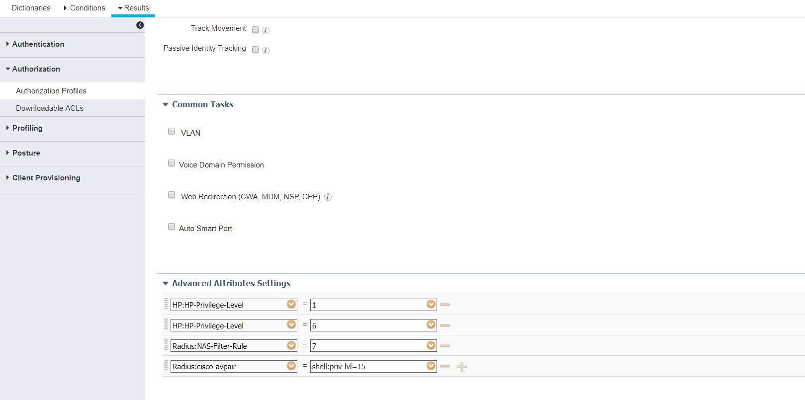 ISE RADIUS device administration with H    - Cisco Community