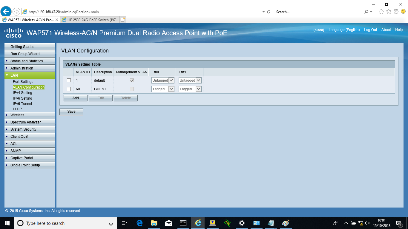 Solved: Intra-VLAN communication between wirele    - Cisco Community