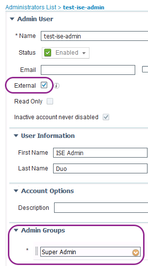 Solved: MFA for ISE admin access? - Cisco Community