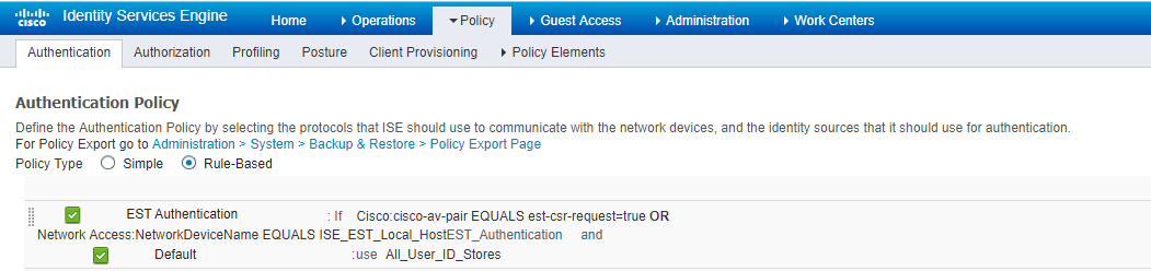 Android BYOD Provisioning Error