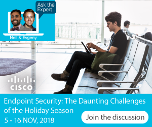 Ask the Expert- Endpoint Security
