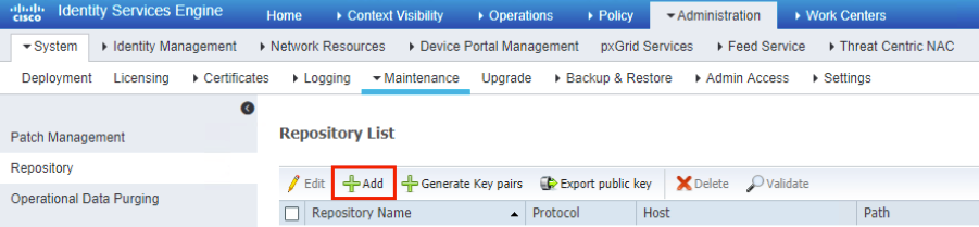 ISE NFS Repository Configuration Exampl    - Cisco Community