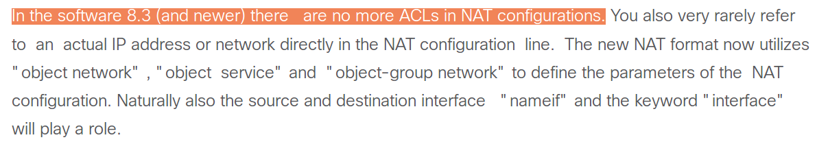 ASA NAT 8 3+ - NAT Operation and Config    - Cisco Community