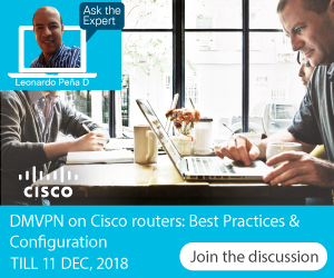 Ask the Expert- DMVPN on Cisco routers