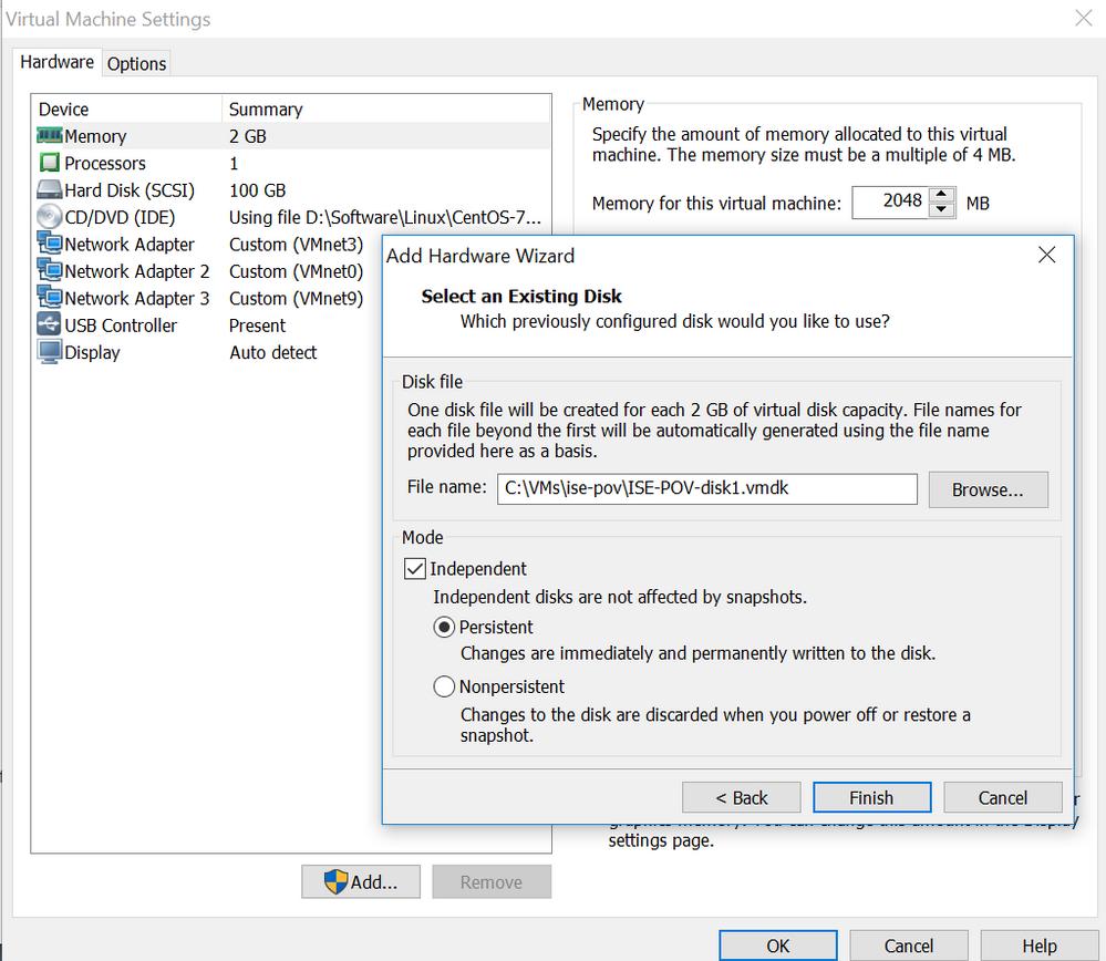 Solved: Shrinking an ISE VM image - Cisco Community