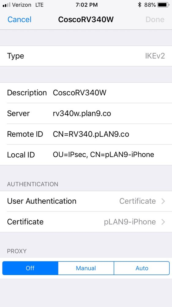 IKEv2 remote access from iPhone - Cisco Community