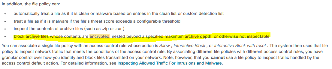 Cisco Firepower File Policy - Cisco Community